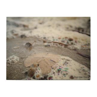 """""""ドルおよび石鹸水""""の- 24"""" x18""""木製の壁の芸術 ウッドウォールアート"""
