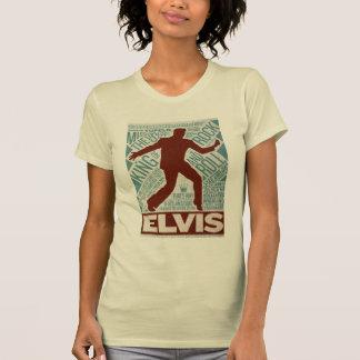 ドルの四つ組のElvisの百万のタイプ Tシャツ