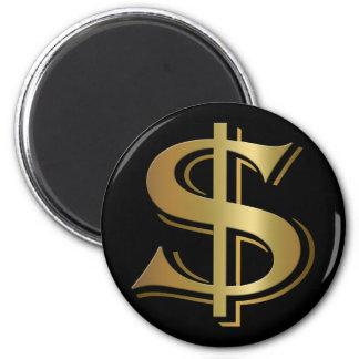 ドル記号の磁石 マグネット