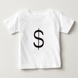 ドルSign$の黒い紫系統 ベビーTシャツ