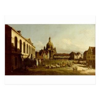 ドレスデンバーナードBellottoのNeuer Marktplatz ポストカード