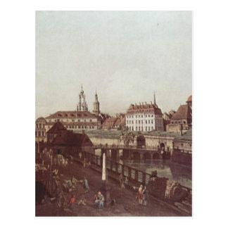ドレスデン、ドレスデンのの眺め強化 ポストカード