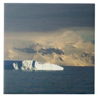 ドレークの開始の氷山はちょうど通過します タイル