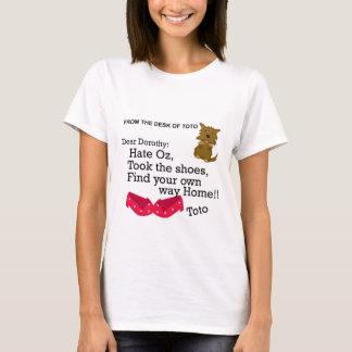 ドロシーオズの魔法使いのおもしろいなワイシャツ Tシャツ