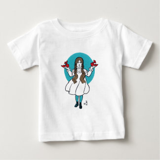 ドロシー: すばらしいオズの魔法使い ベビーTシャツ