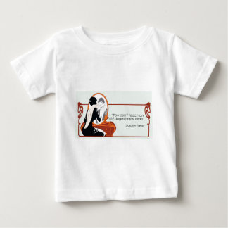 ドロシーParkerの引用文 ベビーTシャツ
