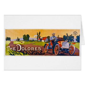 ドロレスの自動車 カード