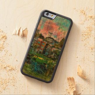 ドロレス公園の別名ヒップスターの不思議の国サンフランシスコ CarvedチェリーiPhone 6バンパーケース