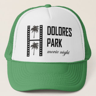 ドロレス公園映画ナイトキャップ キャップ