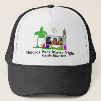 ドロレス公園映画夜は、5帽子に味をつけます キャップ
