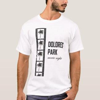 ドロレス公園映画夜 Tシャツ