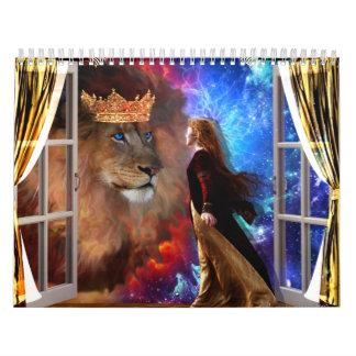 ドロレスDeVelde著2013のカレンダーの予言者の芸術 カレンダー