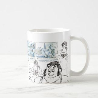 ドンのQUIXOTEマグIVの百年間のtaza コーヒーマグカップ