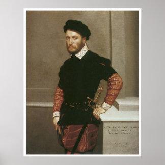 、ドンガブリエルde la Cuevaアルバカーキ1560年の公爵 ポスター