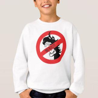 ドングリはいじめっ子のスエットシャツをかみます スウェットシャツ