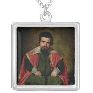ドンセバスチャンde Morra、c.1643-44 シルバープレートネックレス