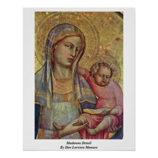 ドンロレンツォモナコ著マドンナの詳細 ポスター