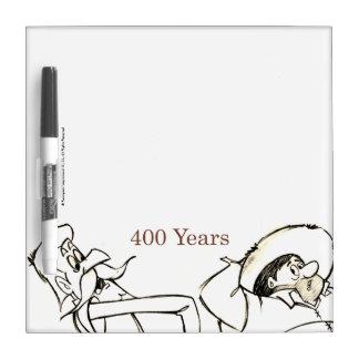 ドン・キホーテ及びSANCHO -セルバンデス著400年 ホワイトボード