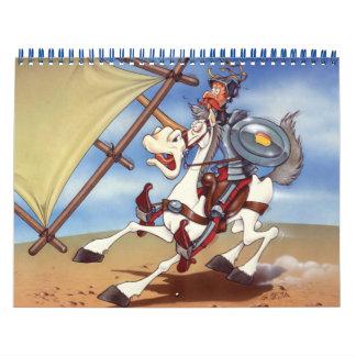 ドン・キホーテ-アニメーションの背景 カレンダー
