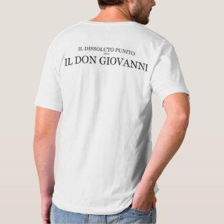 ドン・ジョヴァンニオペラTシャツのV首 Tシャツ