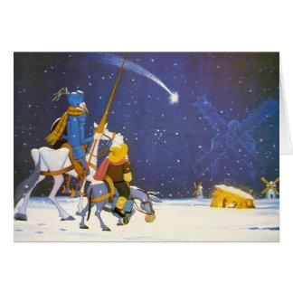 ドンQUIJOTE - ¡ Feliz Navidad!  - Tarjeta Navidad カード
