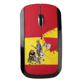 ドンQUIJOTE&SANCHO -風車のスペイン旗 ワイヤレスマウス