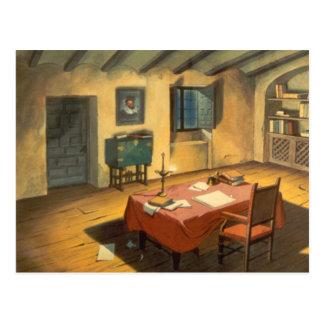 ドンQUIXOTEのアニメーションBackground (1979年) ポストカード