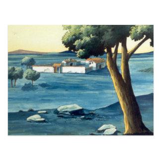 ドンQUIXOTE Background (郵便1979年) - Tarjeta ポストカード