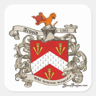 ドーセット、イギリスのリチャードアーノルドの紋章付き外衣 スクエアシール