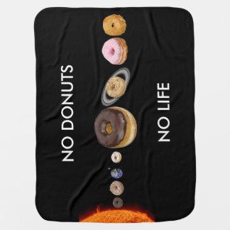 ドーナツの太陽系 ベビー ブランケット