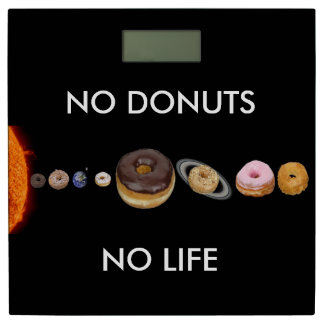 ドーナツの太陽系 体重計