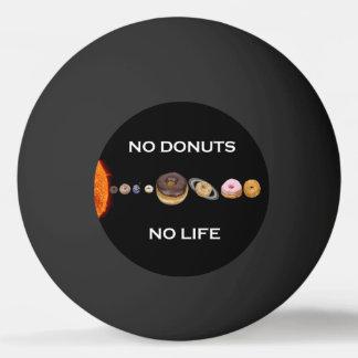 ドーナツの太陽系 卓球ボール