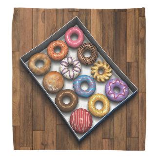 ドーナツの箱 バンダナ