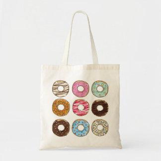 ドーナツの菓子のおいしく多彩なトートバック トートバッグ