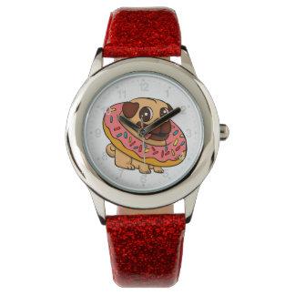 ドーナツパグ 腕時計