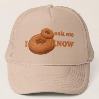ドーナツユーモアの帽子-色を選んで下さい キャップ