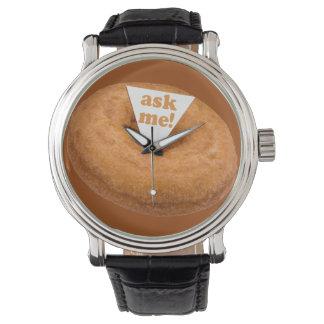 ドーナツユーモアの腕時計 リストウオッチ