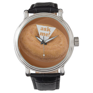 ドーナツユーモアの腕時計 腕時計