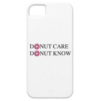 ドーナツ心配ドーナツは知っています iPhone SE/5/5s ケース