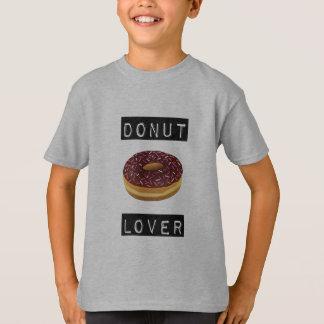 ドーナツ恋人のティー Tシャツ