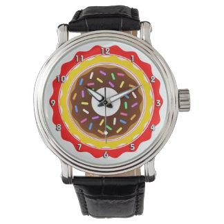 ドーナツ時間腕時計 リストウォッチ