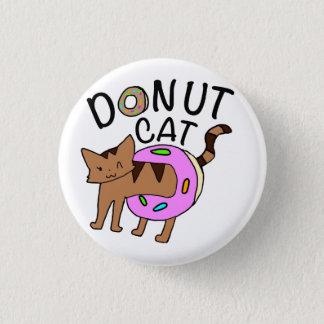 """""""ドーナツ猫""""ボタン 3.2CM 丸型バッジ"""