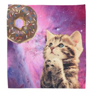 ドーナツ祈る猫 バンダナ