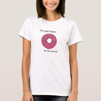 ドーナツ落書き Tシャツ