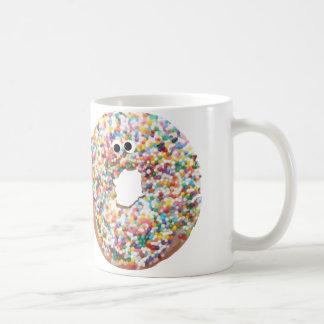 ドーナツ虹はコーヒー・マグを振りかけます コーヒーマグカップ
