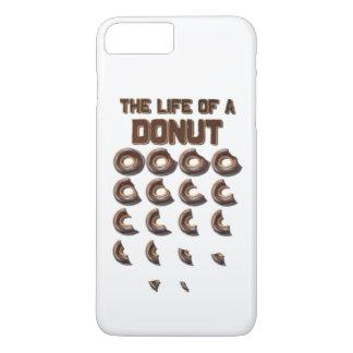 ドーナツiPhone 7のプラスの例の生命 iPhone 8 Plus/7 Plusケース