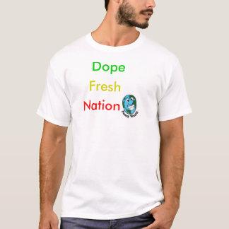 ドープ塗料の新しい国家 Tシャツ