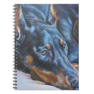 ドーベルマン犬のノート ノートブック