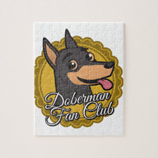 ドーベルマン犬のファン・クラブ ジグソーパズル