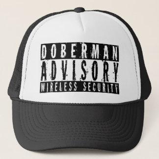 ドーベルマン犬の諮問無線保証 キャップ
